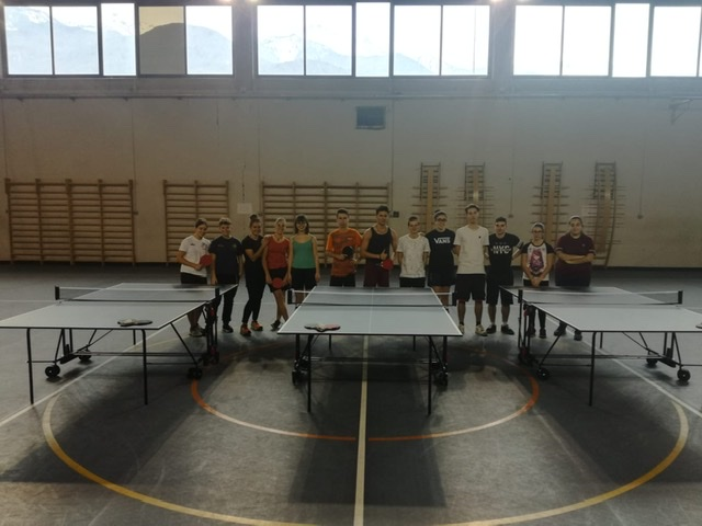 Ping pong allieve juniores